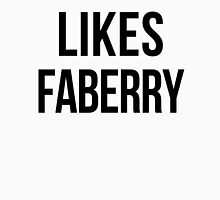 LIKES FABERRY Womens Fitted T-Shirt