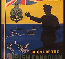 Reprint of a WWI Recruitment Poster by Chris L Smith