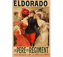 Reprint of a French Army Recruiting Poster Photographic Print