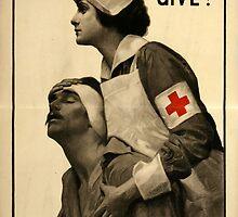 Reprint of a WW1 Propaganda Poster by Chris L Smith
