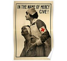 Reprint of a WW1 Propaganda Poster Poster