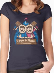 Popo & Nana Women's Fitted Scoop T-Shirt
