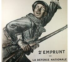 Reprint of a WW1 French Recruiting Poster  by chris-csfotobiz