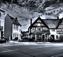 Black & White Town by StephenRphoto