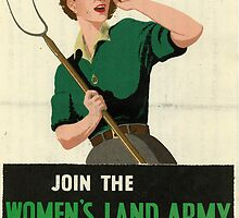 Reprint of a WW2 Recruiting Poster  by Chris L Smith