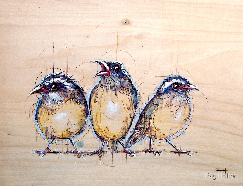 Three Little Birds by Fay Helfer