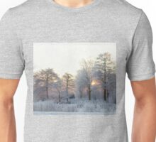 The first morning after the first snow... Unisex T-Shirt