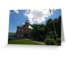 Old Court House Greeting Card