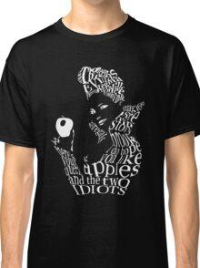 The Evil Queen - Calligram - color Black Classic T-Shirt