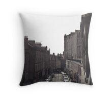 Victoria Street, Old Town of Edinburgh Throw Pillow