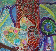 Color Tweet Burst by Deirdre Freeman