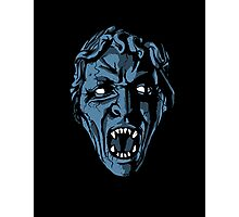 Scary Weeping Angel Photographic Print