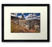 The Ruined Blackhouse Framed Print