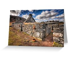 The Ruined Blackhouse Greeting Card