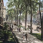 Broadway in Saratoga Springs, New York, ca 1915 (full size) by Sanna Dullaway