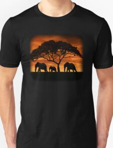 Elephant Sunset T-Shirt