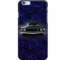 1969 FORD MUSTANG. iPhone Case/Skin