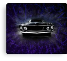 1969 FORD MUSTANG. Canvas Print