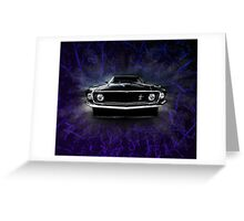 1969 FORD MUSTANG. Greeting Card