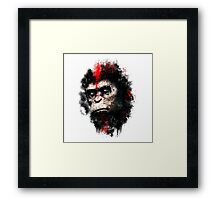 Apes Painting Framed Print