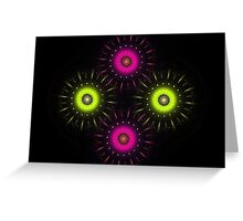Neon Greeting Card