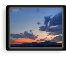 ©HCS Rainy Season Clouds Canvas Print