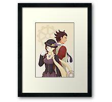Steampunk Miego Framed Print