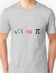 """ I Love Pie "" Funny Math T Shirt or Sticker T-Shirt"