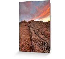 Sunset Slide Greeting Card