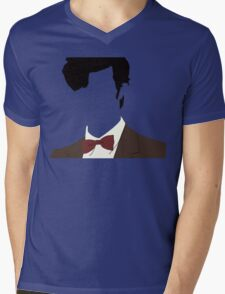 Faceless 11th Doctor Mens V-Neck T-Shirt