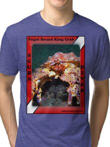 Puget Sound King Crab Shirts Tri-blend T-Shirt