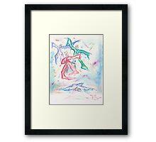 Beauty's Death Framed Print