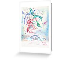 Beauty's Death Greeting Card