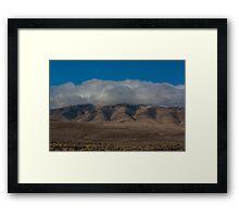 Clouds in Nevada  Framed Print