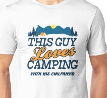 This GuyLoves Camping With Her Fiancee Unisex T-Shirt