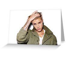 Justin B Greeting Card
