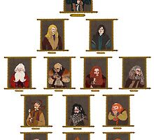 The Dwarves by amandarts