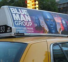 Blue Man... by Cindy Rubino
