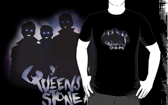 Queens of the Stone Age Band Silhouettes  by BootsElectric