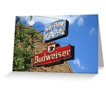 Route 66 - Ariston Cafe Neon Greeting Card