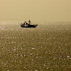 Morning Fishing Run at Amelia Island, Florida by Kent Nickell