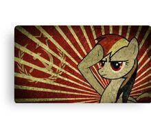 Pony communist Canvas Print