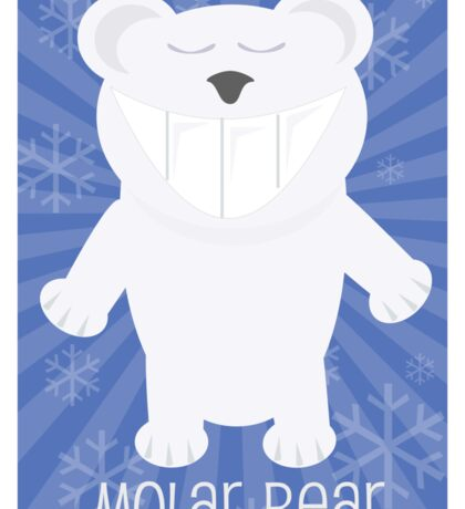 Molar Bear Sticker