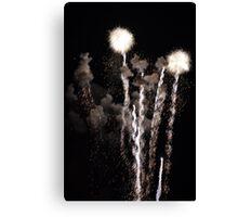 Fireworks... Canvas Print