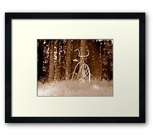 Lets Go For A Ride Around The Block Framed Print