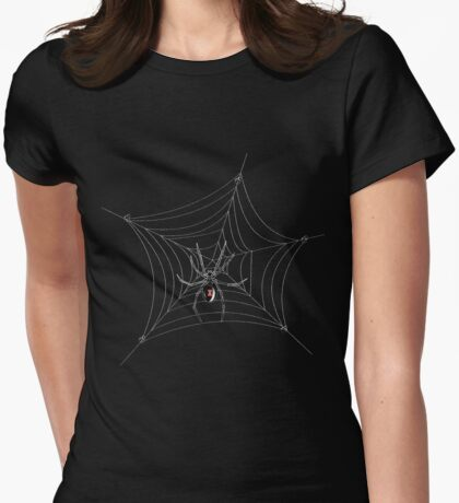 Black Widow w/o Text Womens Fitted T-Shirt