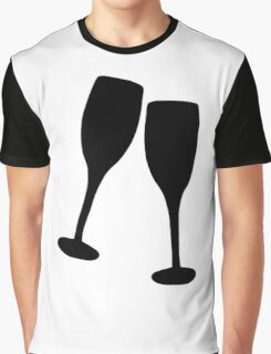 Drinks toast Graphic T-Shirt