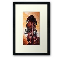 The Mutant Bloom  Version 2  Framed Print
