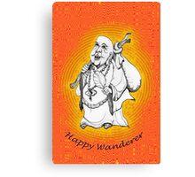 Friendly Happy Buddha * Canvas Print