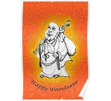 Friendly Happy Buddha * Poster